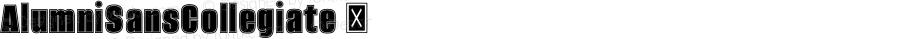 AlumniSansCollegiate ☞ Version 1.000;PS 001.001;hotconv 1.0.56;com.myfonts.easy.typesetit.alumni.collegiate.wfkit2.version.4mJi