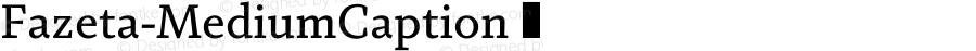 Fazeta-MediumCaption ☞ 001.000;com.myfonts.easy.adtypo.fazeta.caption-medium.wfkit2.version.4kYj