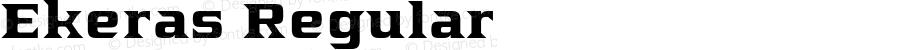 Ekeras Regular Version 1.000 2015 initial release