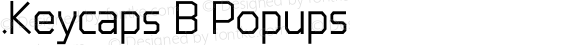 .Keycaps B Popups