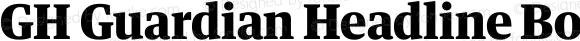 GH Guardian Headline Bold