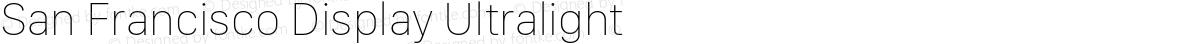 San Francisco Display Ultralight