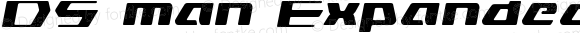 DS man Expanded Semi-Italic Expanded Semi-Italic