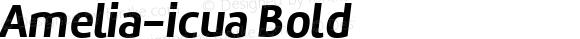 Amelia-icua Bold Version 001.001;com.myfonts.easy.tipotype.amelia.oblicua-bold.wfkit2.version.3X2U