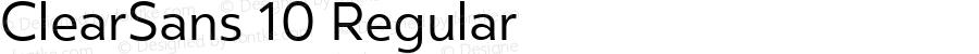ClearSans 10 Regular Version 001.000;com.myfonts.easy.positype.clear-sans.book.wfkit2.version.44Vv