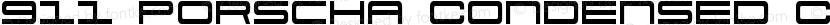 911 Porscha Condensed Condensed Preview Image