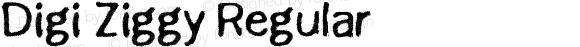 Digi Ziggy Regular Version 1.00 March 5, 2015, initial release