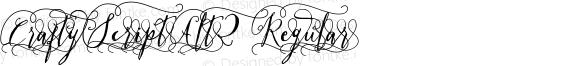 CraftyScriptAlt2 Regular preview image