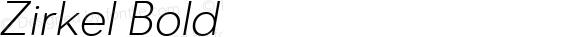 Zirkel Bold Version 1.000;PS 001.000;hotconv 1.0.70;makeotf.lib2.5.58329 DEVELOPMENT;com.myfonts.easy.ondrej-kahanek.zirkel.light-italic.wfkit2.version.4cuD