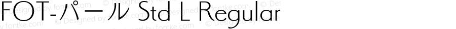 FOT-パール Std L Regular Version 1.000;PS 1;hotconv 1.0.38;makeotf.lib1.6.5960