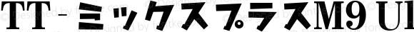 TT-ミックスプラスM9 UltraBold N_1.00