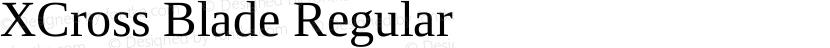 XCross Blade Regular Preview Image