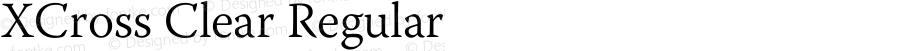 XCross Clear Regular XCross Clear - Version 1.0