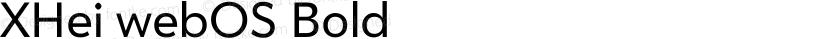 XHei webOS Bold Preview Image