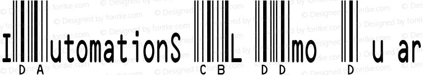 IDAutomationSHCBL Demo Regular IDAutomation.com 2015