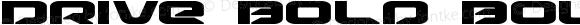 Drive Bold Bold Version 1.1; 2015