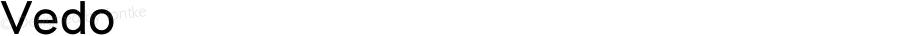 Vedo ☞ Version 1.000;com.myfonts.easy.wiescherdesign.vedo.regular.wfkit2.version.3CZq