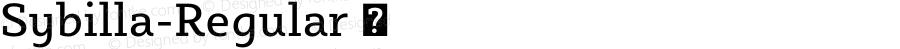 Sybilla-Regular ☞ Version 2.950;com.myfonts.easy.karandash.sybilla.regular.wfkit2.version.4nLY