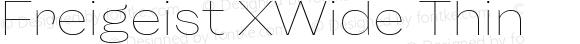 Freigeist XWide Thin