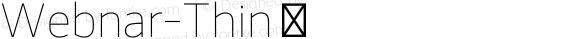 Webnar-Thin ☞