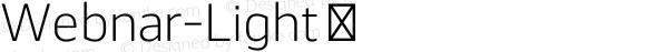 Webnar-Light ☞