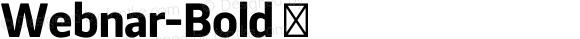 Webnar-Bold ☞