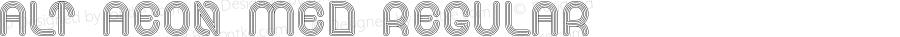 Alt Aeon Med Regular Version 1.000;PS 001.001;hotconv 1.0.56