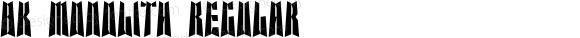 BK Monolith Regular 001.001