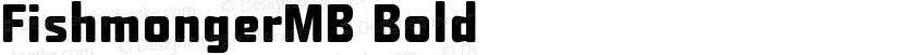 FishmongerMB Bold Preview Image