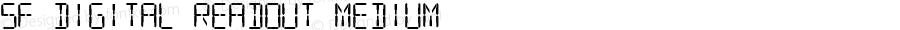 SF Digital Readout Medium ver 2.0; 2000.