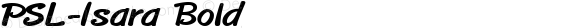 PSL-Isara Bold 1.0 Mon Mar 24 21:57:47 1997