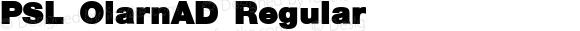 PSL OlarnAD Regular Series 3, Version 1.5, release September 2002.