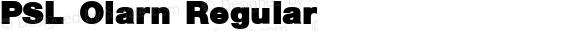 PSL Olarn Regular PSL Series 3, Version 1.0, release November 2000.