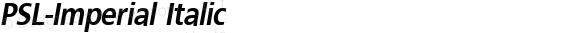 PSL-Imperial Italic 1.0 Mon Mar 24 21:53:05 1997