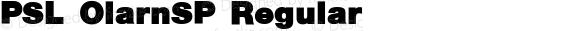 PSL OlarnSP Regular PSL Series 3, Version 1.0, release November 2000.