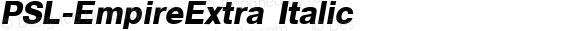 PSL-EmpireExtra Italic 1.0 Mon Mar 24 22:00:01 1997