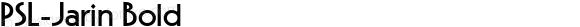 PSL-Jarin Bold 1.0 Mon Mar 24 22:02:42 1997