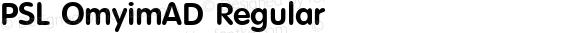 PSL OmyimAD Regular Series 3, Version 1.5, release September 2002