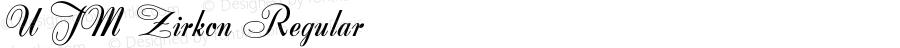 UTM Zirkon Regular Bộ Font chữ Việt sử dụng bảng mã Unicode - http://www.fontchudep.vn