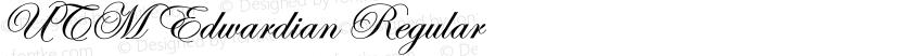 UTM Edwardian Regular Preview Image