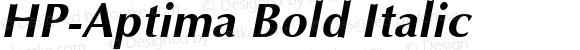 HP-Aptima Bold Italic
