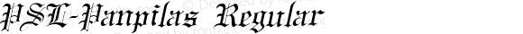 PSL-Panpilas Regular Version 1.000 2006 initial release