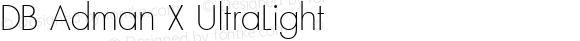 DB Adman X UltraLight Version 3.100 2007