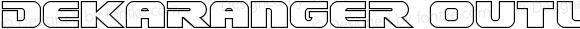 Dekaranger Outline Outline