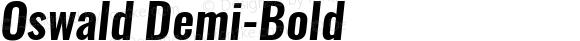 Oswald Demi-Bold