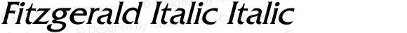 Fitzgerald Italic Italic Unknown