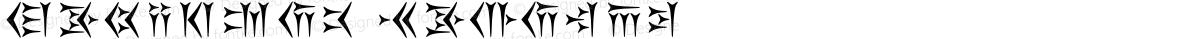 Behistun Regular