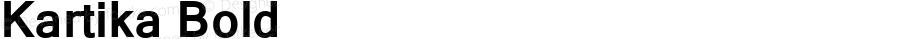 Kartika Bold Version 6.90