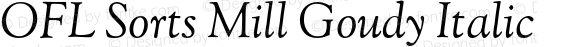 OFL Sorts Mill Goudy Italic Version 003.000