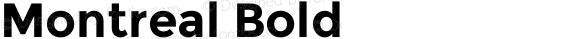 Montreal Bold Version 2.001